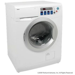 I salivate over this: ventless washer-dryer!